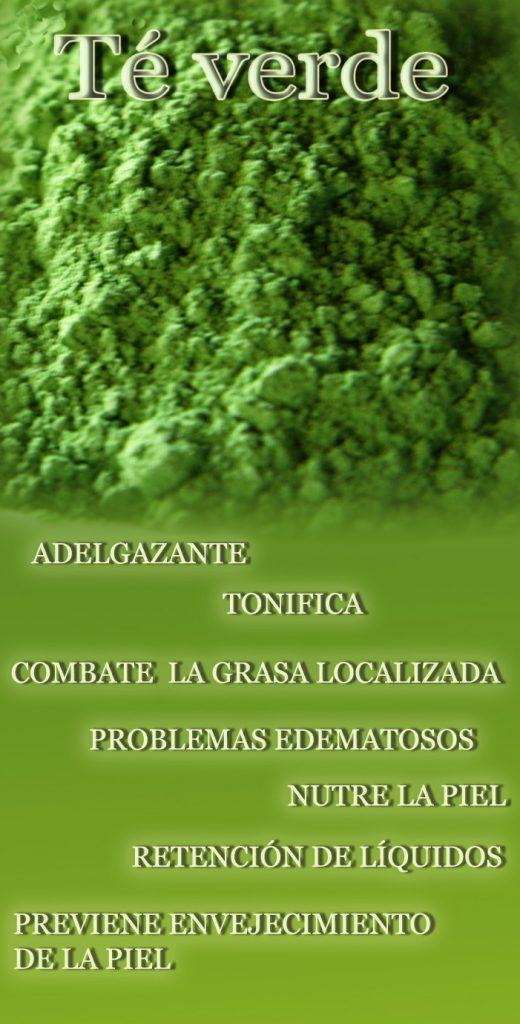 Té verde envoltura